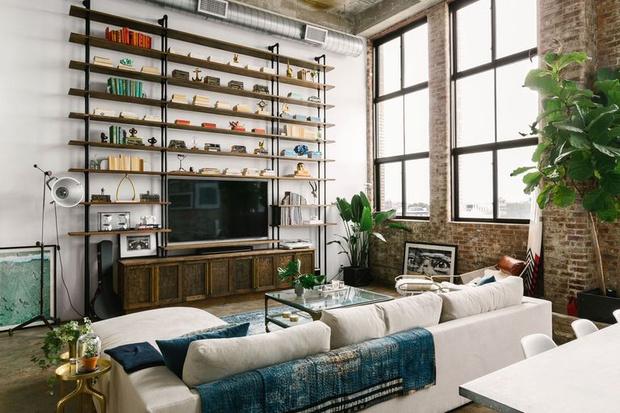 Фото №2 - Стеллаж в гостиной: лучшие идеи и решения