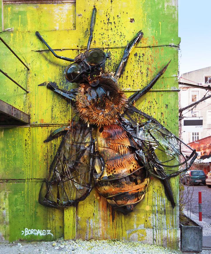 Фото №2 - Краски города: 10 знаменитых граффити