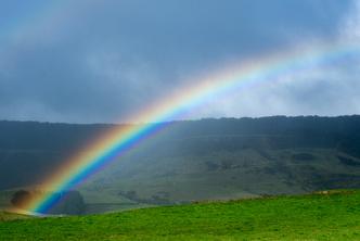 Фото №1 - Почему радуга имеет форму дуги?