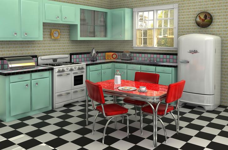 Фото №13 - Тренды 2020: кухня в винтажном стиле