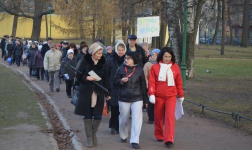Фото №1 - Петербуржцы будут гулять по Таврическому саду с врачами