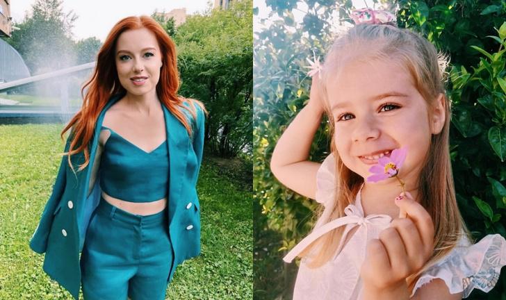 Юлия Савичева поздравила дочь, фото