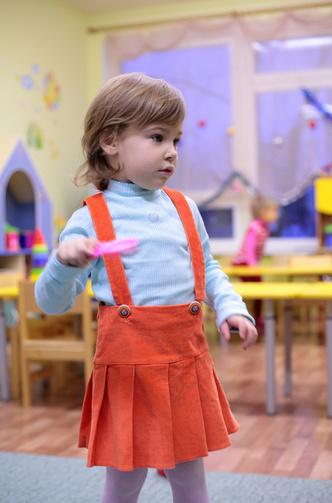 Фото №1 - Первый раз в детский сад!