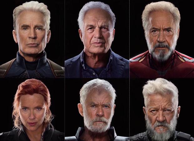 Фото №8 - Как выглядели бы «Мстители» в старости