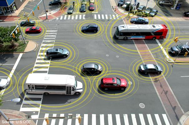 Фото №1 - Через пять лет автомобили в США будут «говорить» друг с другом