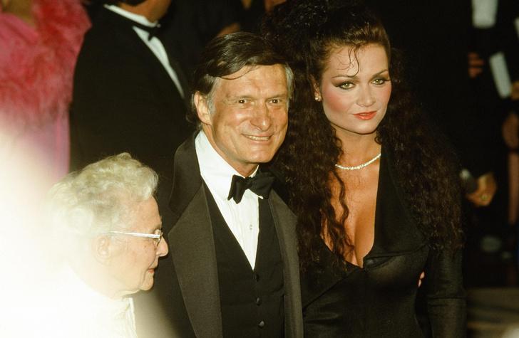 Хью Хеффнер с любовницей