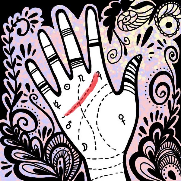 Фото №1 - Хиромантия: читаем характер по линиям на руке