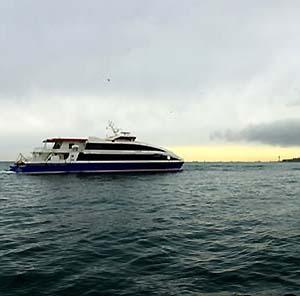 Фото №1 - Турецкий паром протаранил украинское судно