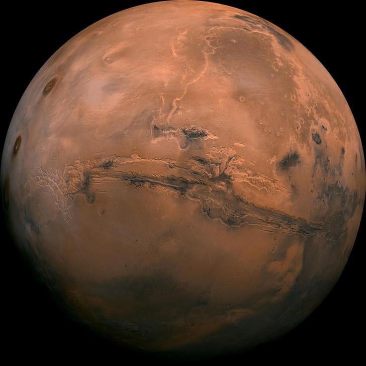 Фото №1 - 5 самых интересных карт Марса