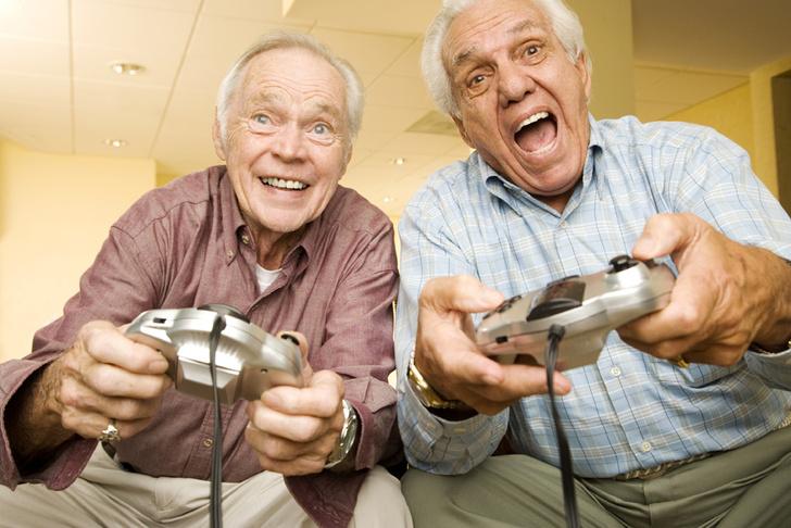 Фото №1 - Доказана польза видеоигр для пожилых людей