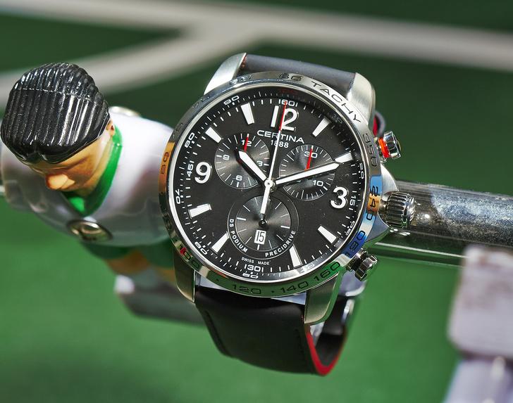 Фото №3 - Спортозаменитель: 5 спортивных часов в классическом стиле