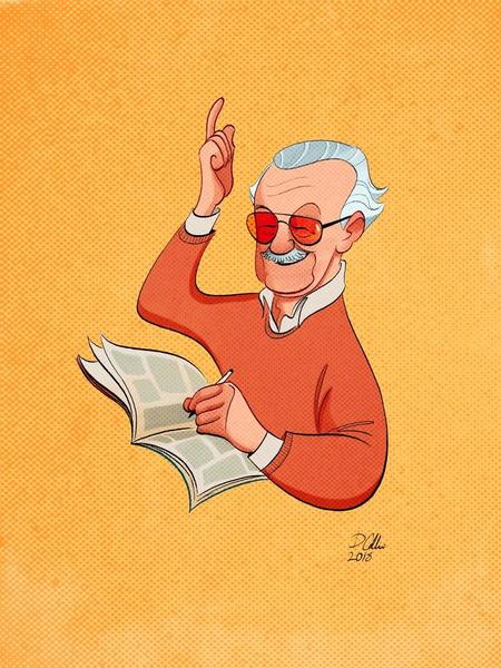 Фото №4 - Так трогательно: фанаты Marvel нарисовали комиксы в память о Стэне Ли