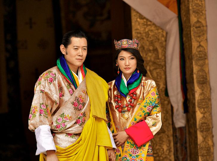 Фото №1 - Король и королева Бутана станут родителями во второй раз