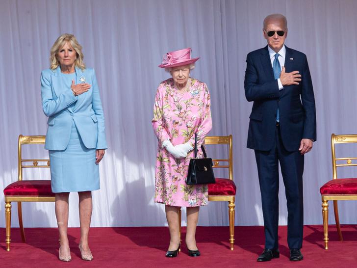 Фото №3 - Двойной провал: как президент Байден нарушил протокол во время встречи с Королевой