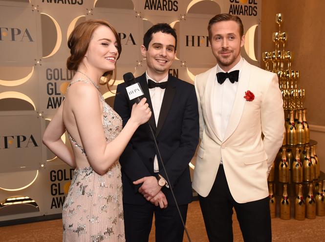 Фото №2 - «Золотой глобус 2017»: триумфаторы и самые красивые гости премии
