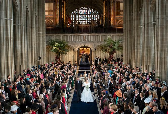 Фото №3 - Интересные факты о свадьбе принцессы Евгении и Джека Бруксбэнка