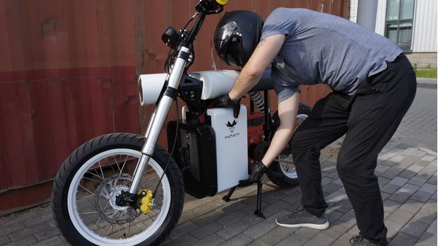 Фото №3 - «Панч»— мотоцикл нового поколения, созданный в России и Белоруссии