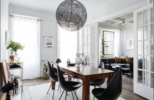 Фото №2 - Романтичная квартира в довоенном доме в Бруклине