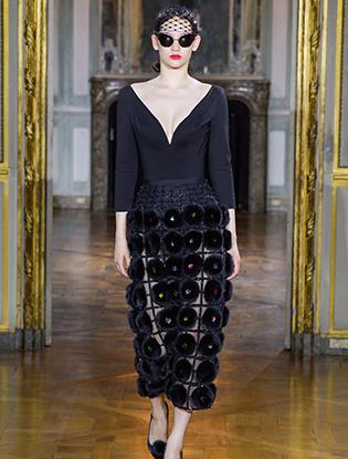 Фото №2 - Неделя Высокой моды в Париже: Ulyana Sergeenko Couture F2015