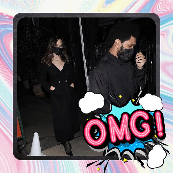 Фото №1 - Хадид не заходит? Анджелина Джоли и The Weeknd встречаются? 😱