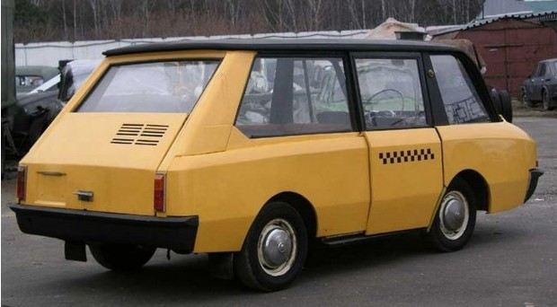 Фото №3 - Гениальное советское такси, которое не оценили