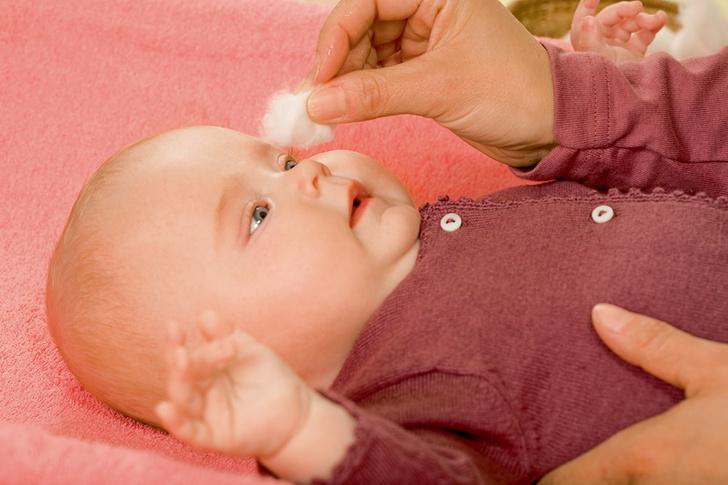 Фото №6 - Уход за лицом новорожденного