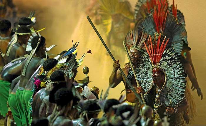 Фото №1 - Бразилия. Индейская олимпиада