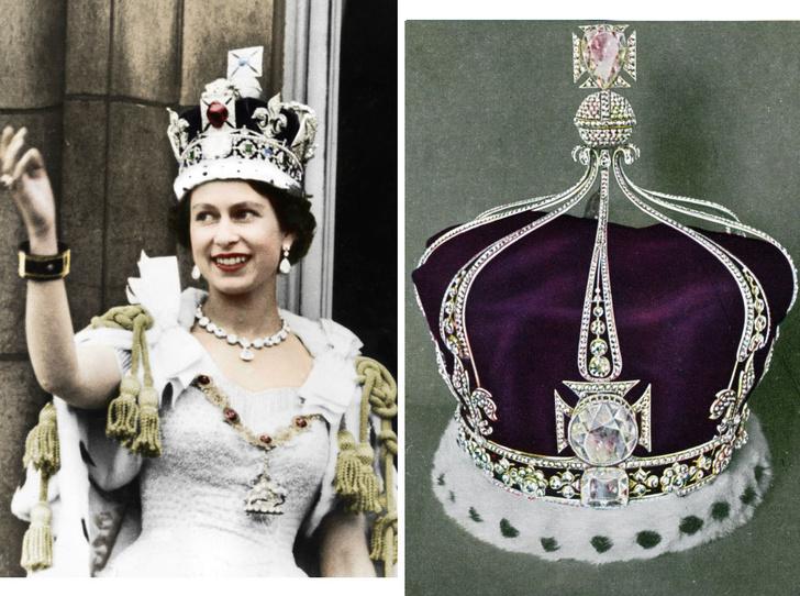 Фото №1 - «Проклятая» корона: история самого загадочного украшения Виндзоров (и почему Кейт стоит его опасаться)