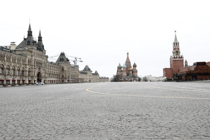 Фото №1 - Опустевшая Москва