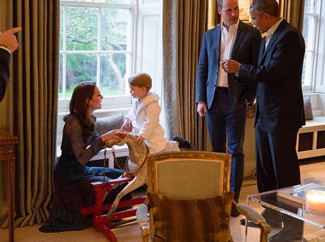 Фото №45 - Принц Джордж Кембриджский: три года в фотографиях