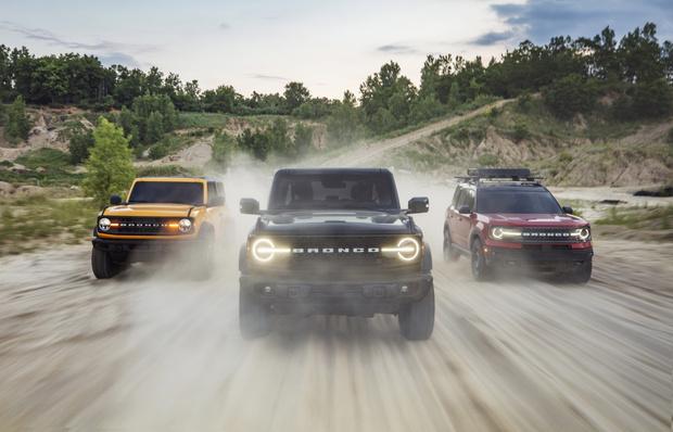 Фото №2 - Ford представил совершенно новый внедорожник