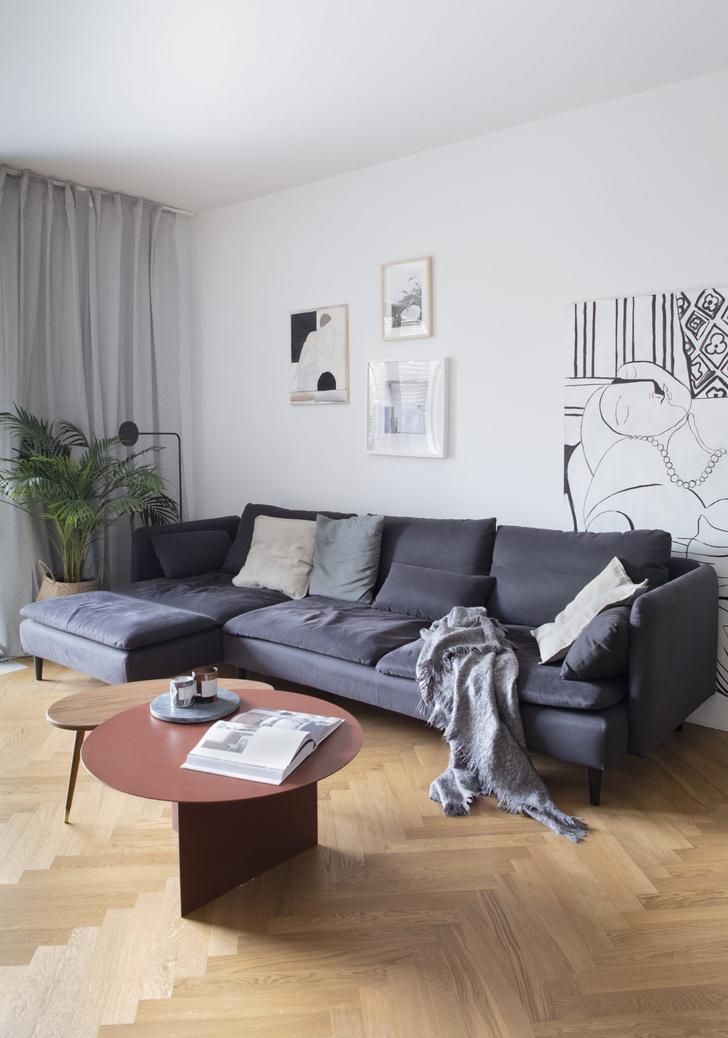 Фото №6 - Светлая квартира 65 м² инженера в Варшаве