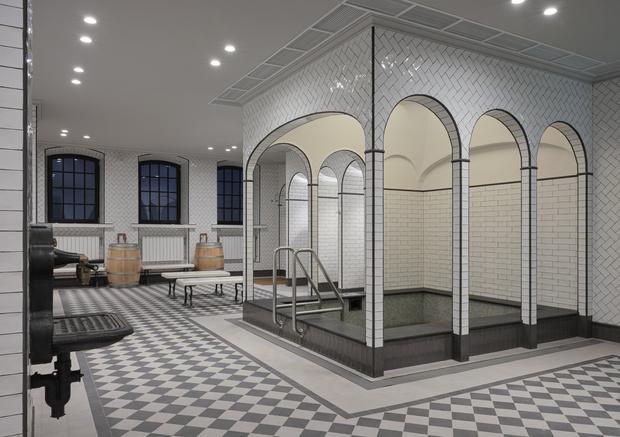 Фото №3 - В Санкт-Петербурге после реновации открываются легендарные Фонарные бани