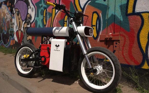 Фото №1 - «Панч»— мотоцикл нового поколения, созданный в России и Белоруссии