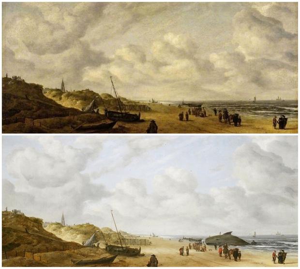 Фото №12 - 10 известных картин, под которыми скрываются совершенно другие произведения