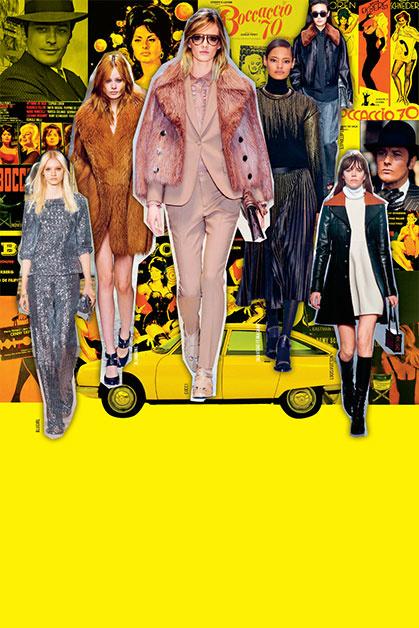 STUDIO 54 В моде богема конца 1970-х – в основном брючные костюмы в стиле Ива Сен-Лорана, но встречается и клеш. Когда Мик Джаггер уходил от Бьянки Джаггер к Джерри Холл, все трое были одеты примерно так