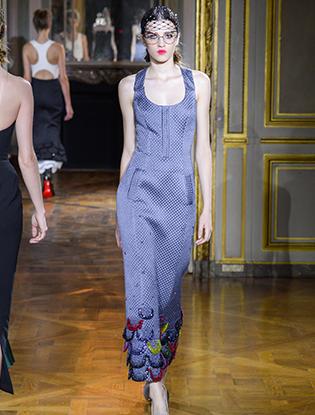 Фото №7 - Неделя Высокой моды в Париже: Ulyana Sergeenko Couture F2015