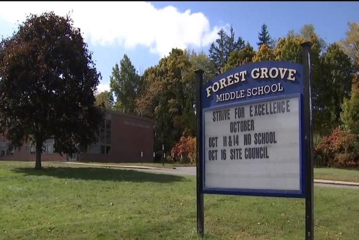 Фото №1 - В США 12-летнего школьника обвинили в домогательствах: он обнял на уроке учительницу физкультуры