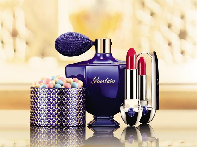 Фото №5 - Звезда Востока: Рождественская make-up коллекция Натальи Водяновой для Guerlain
