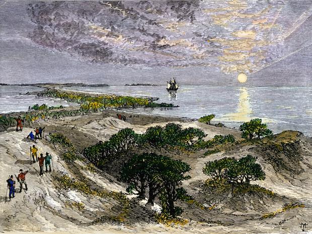 Фото №11 - Загадка Роанока: что случилось с колонией, бесследно изчезнувшей более 400 лет назад
