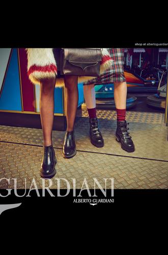 Фото №4 - Вечерний выход: новая рекламная кампания Alberto Guardiani осень-зима 16/17