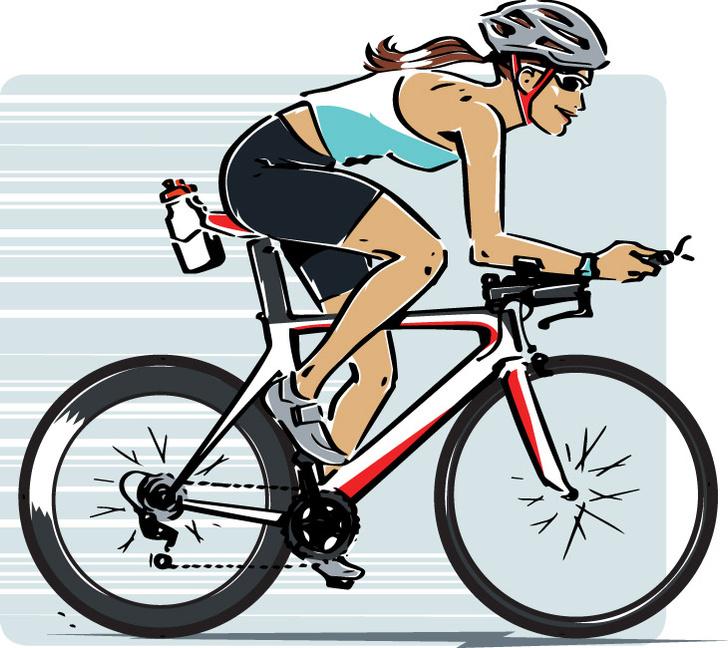 Фото №1 - Как не упасть с велосипеда?