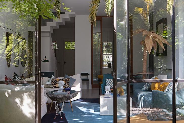 Фото №3 - Светлый дом с яркими акцентами в Мадриде