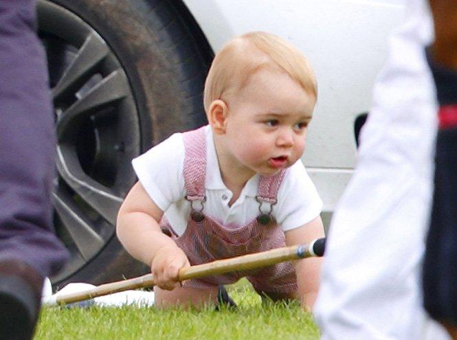 Фото №23 - Принц Джордж Кембриджский: три года в фотографиях
