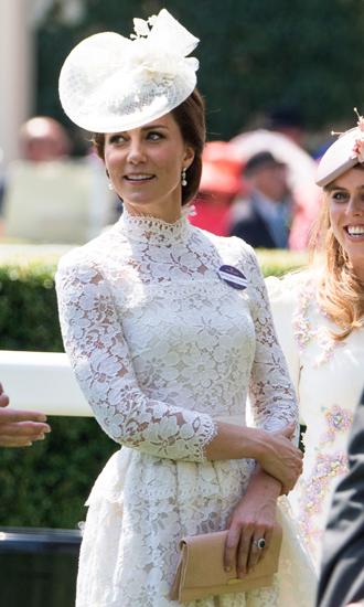 Фото №8 - Чья шляпа лучше: герцогиня Кембриджская и другие на Royal Ascot 2017