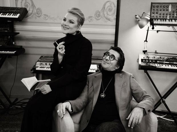 Фото №4 - Рената Литвинова и Юрий Башмет: теплый разговор перед Новым годом