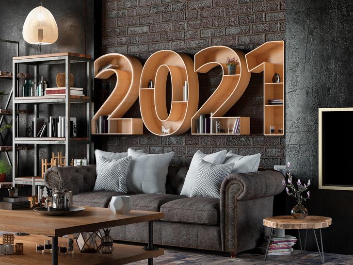 Фото №2 - Как правильно украсить дом к Новому 2021 году Белого быка
