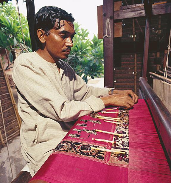 Фото №1 - Индия: бенаресский шелк