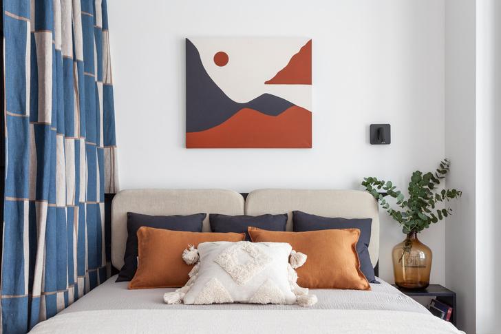 Фото №9 - Яркая квартира 30 м² для молодой пары, работающей из дома