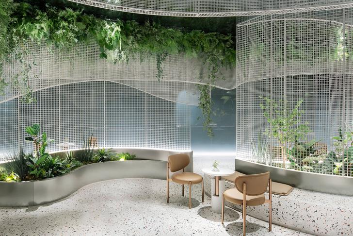 Фото №4 - Кофейня с «парящим» садом в Гуанчжоу
